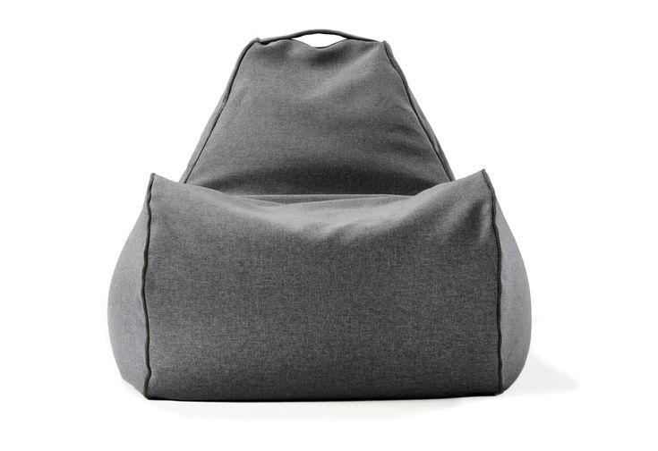 interior-bean-bag-silla-lujo-moderna-gris