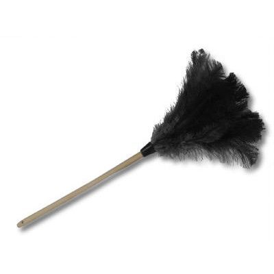 """Unisan 10"""" Handle Professional Ostrich Feather Duster"""