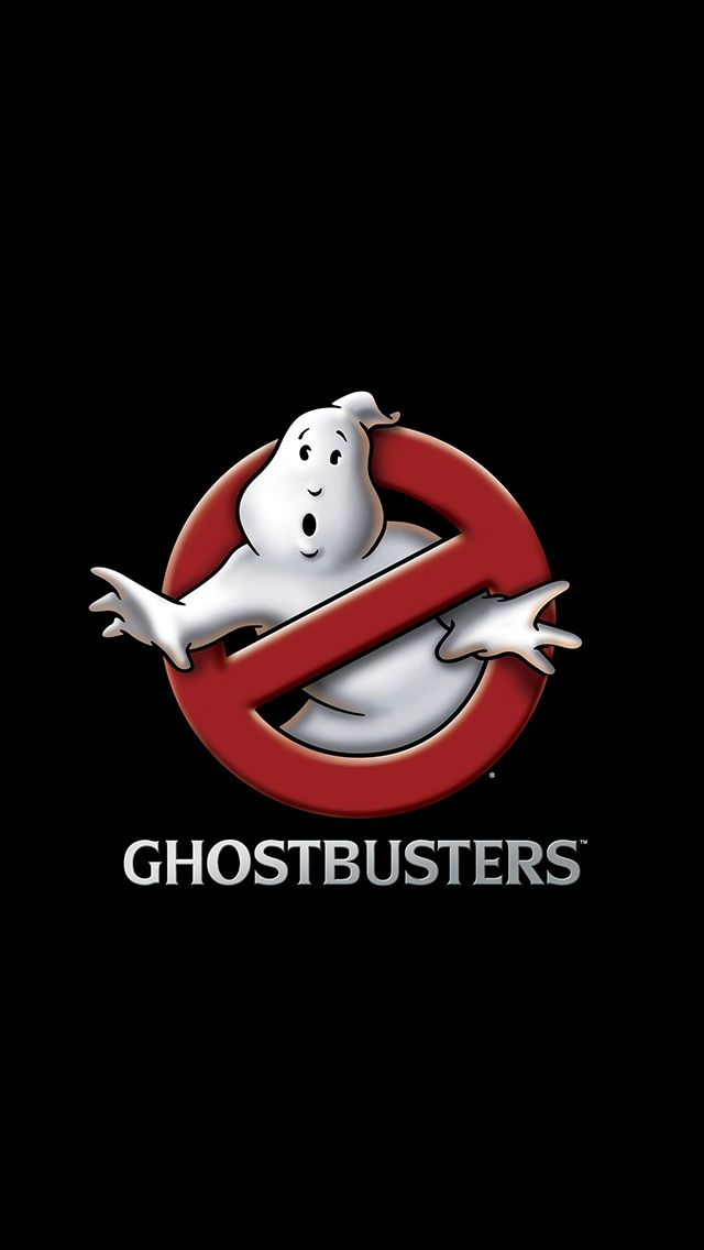 Ghostbusters Movie Logo iPhone 5 Wallpaper