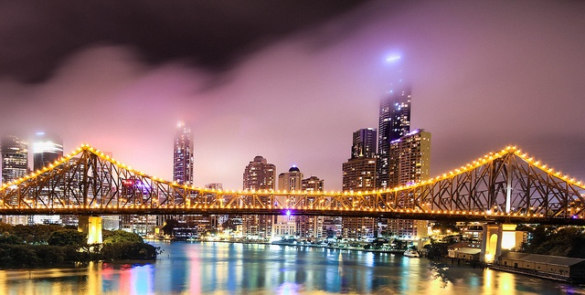 The Story Bridge, Brisbane by Isaak's PhotoGraphy, via Flickr