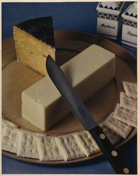 Cheese and Crackers, 1936,   Paul Outerbridge Jr. (American, 1896-1958)  assembly process color print (three-color carbro process)