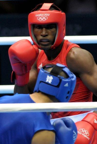 Boxeador cubano Julio césar la Cruz en los Juegos Olímpicos, Londres 2012
