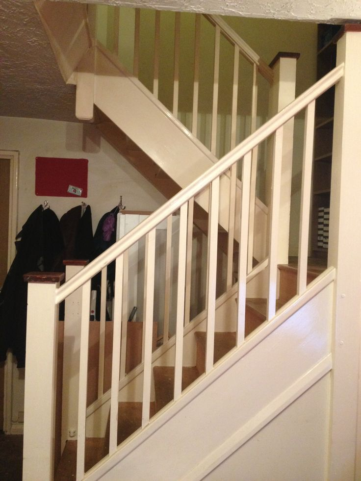 love my u shape staircase  new den  U shaped staircase