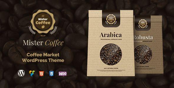 Mister Espresso – Caffeine Market On-line Retailer WordPress Theme