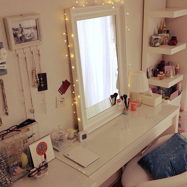 드레싱 테이블 / 조명 / 혼자 / IKEA / Lounge 인테리어 삽화 - 2014-06-11 22:19:11 | RoomClip (룸 클립)