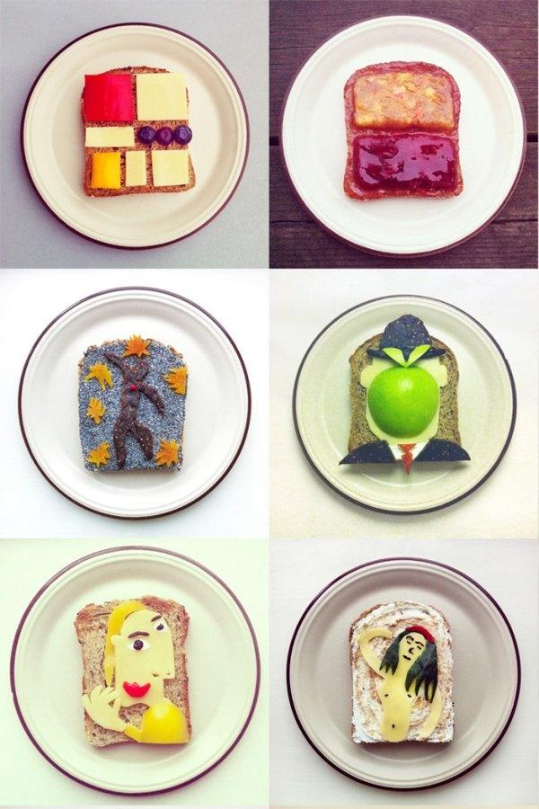 L'arte dei toast di Ida Frosk: creatività è più che commestibile @idafrosk | bigodino.it