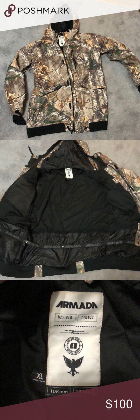 snowboarding jacket armada real tree camo snowboarding jacket, XL.. good condition. armada Jackets & Coats Ski & Snowboard