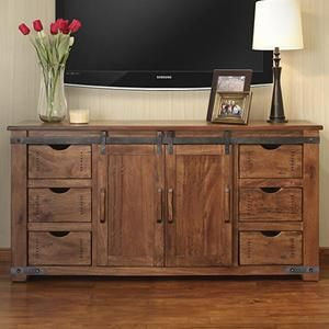 "Parota 70"" Artisan Parota TV Stands 