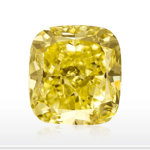 All About Fancy Canary Yellow  Diamonds