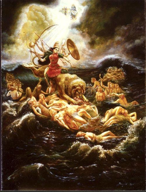 danielwamba:  Durga   Om Durga