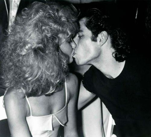 Olivia Newton-John and John Travolta at Studio 54 in 1978.