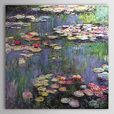 Nenúfares de Claude Monet | Cuadros de Pinturas Famosas