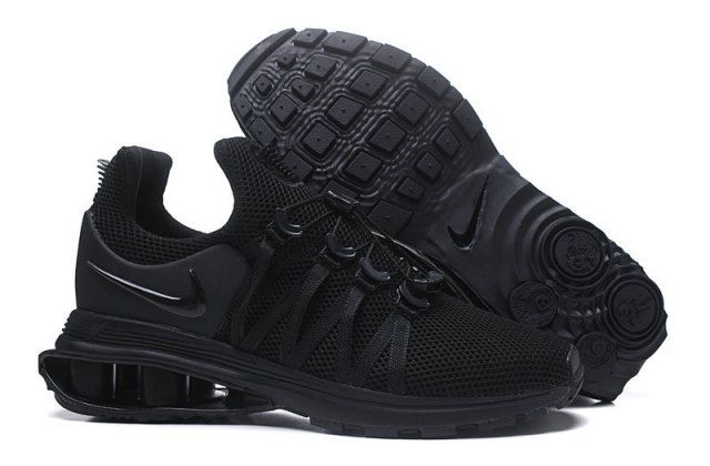 a7cbca25970bcb Nike Shox Gravity Triple Black AR1999 001 Mens Footwear NIKE ...