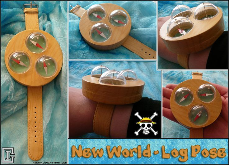 One Piece - New World Log Pose by Riomy
