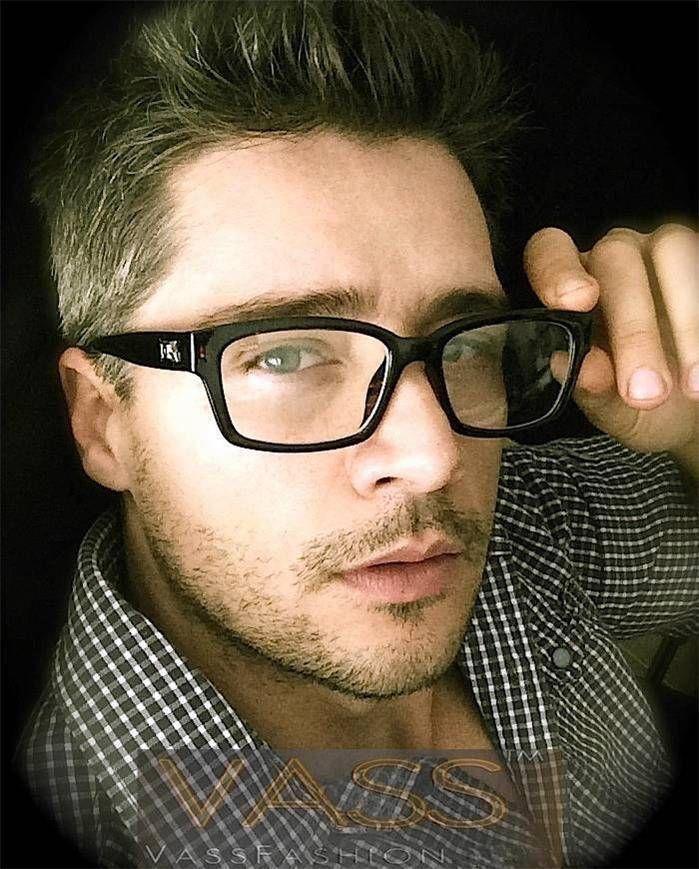 Vintage Rectangular Fashion Designer Frame Men Uni Clear Lens Optical Eyeglasses