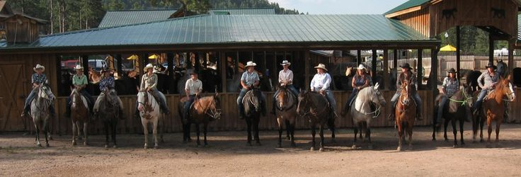 Horseback Riding & Dinner Show at Mt. Rushmore  Horseback Riding Trail Rides  