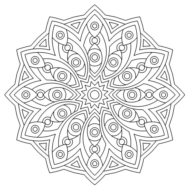 Geometric Art Coloring Book : 117 best crafty mandalas and coloring pages images on pinterest