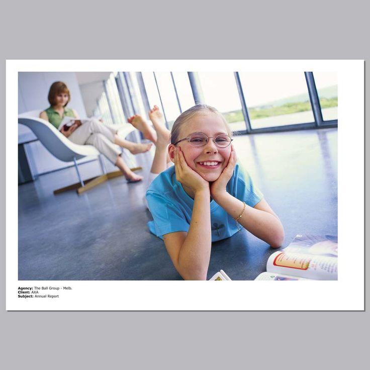 Client - AXA Insurance, Annual Report