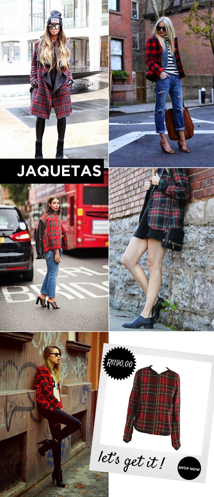 Look, outfit, inspiration, trendy, tendencias, inspiração , chess, xadrez, tartan, fashion, moda, camisa, brand, marca shopcarolfarina.com.br