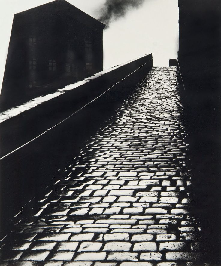 """A snicket in Halifax, West Yorkshire"" by Bill Brandt, 1937"