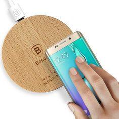 #Banggood Original Baseus Swood QI Standard Wireless Charging Pad (1038510) #SuperDeals