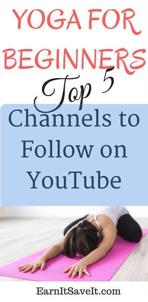 A great list of the best free YouTube channels for yoga beginners.