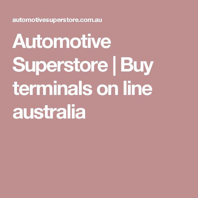 Automotive Superstore | Buy terminals on  line australia