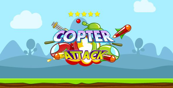 Copter attack - HTML5 game. Construct 2 (.capx) #Action, #Android, #AndroidGame, #BrowserGame, #Capx, #Construct2, #Flikes, #Game, #Html5, #Html5Game, #Ios, #IOSGAME, #Mobile, #MobileGame, #Touch, #WebGame https://goo.gl/qS528a