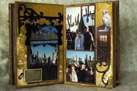 love the hogsmeade sign! // harry potter mini album - Google Search