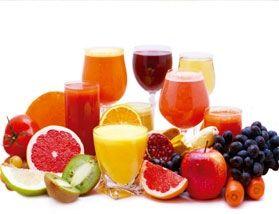 Suco de cascas de frutas