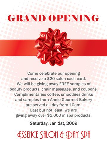 17 Best Grand Opening Ideas Images On Pinterest Grand Opening    Inauguration Invitation Card Sample  Invitation Card Formats