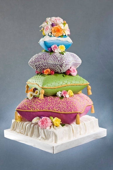 Bohemian: Wedding Cake