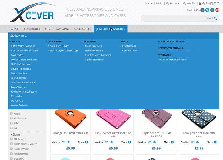 X-cover Navigation – Simplicity = Sales!
