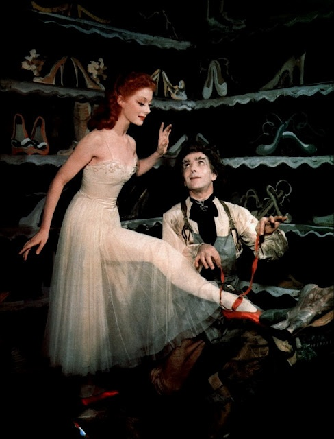 The Red Shoes (this movie terrified me when I was little!!!!!)