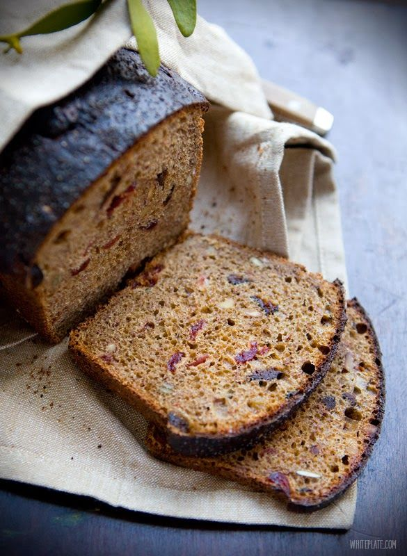 Christmas bread by White Plate