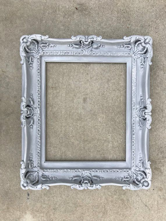 Picture Ornate Shabby Chic Vintage Antique Baroque Xmas Old Style Photo Frames