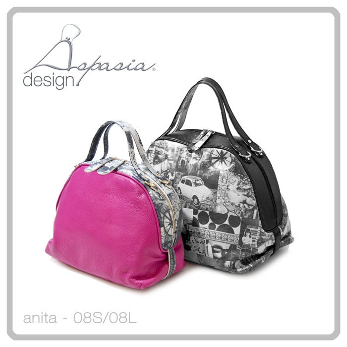 www.aspasiadesign.it  Bags completely made in Italy!