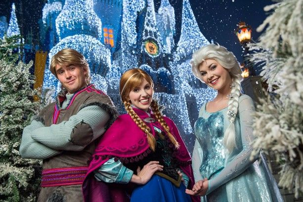 "This holiday season, the wintry wonder and magic of Disney's ""Frozen"" is coming to Magic Kingdom..."
