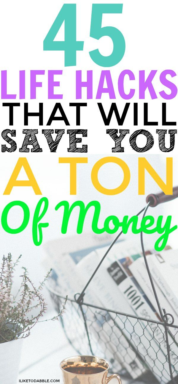 Life hacks that will save you a ton of money. Ways to save money with life hacks. Life hacking to save money. Ways to save money. All natural life hacks. Frugal and thrifty living. #savemoney #lifehacks #frugal #frugalthrifty