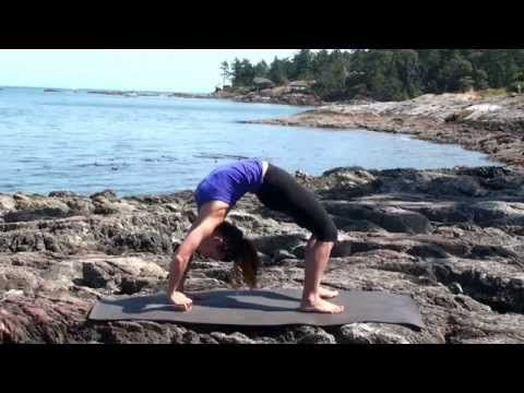 50 min Backbending From The Base - Advanced Yoga Class with Fiji McAlpine - YouTube