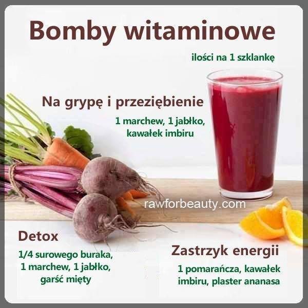 Koktajlowe bomby witaminowe :)