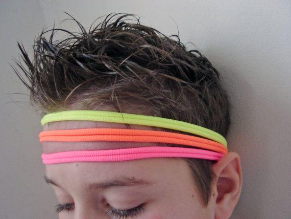 Neon Elastic Headband Toddler Boy Headband Neon by mrearrings