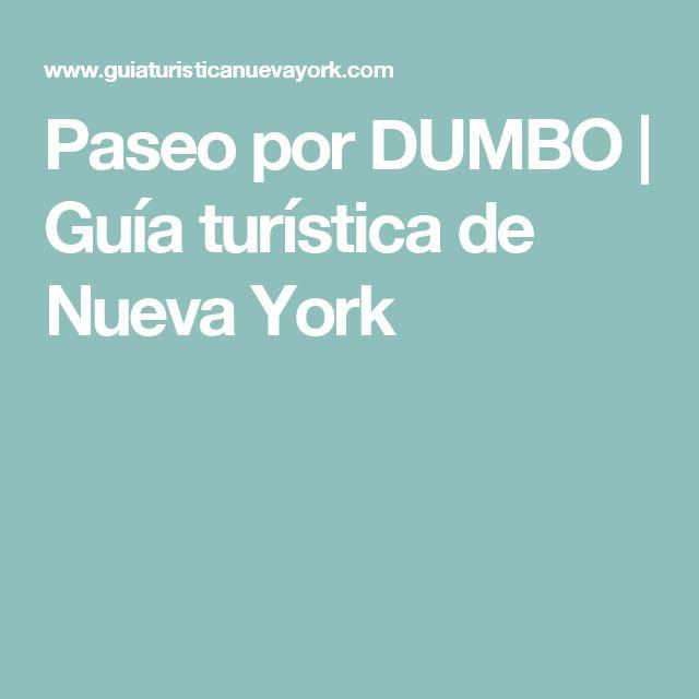 Paseo por DUMBO | Guía turística de Nueva York