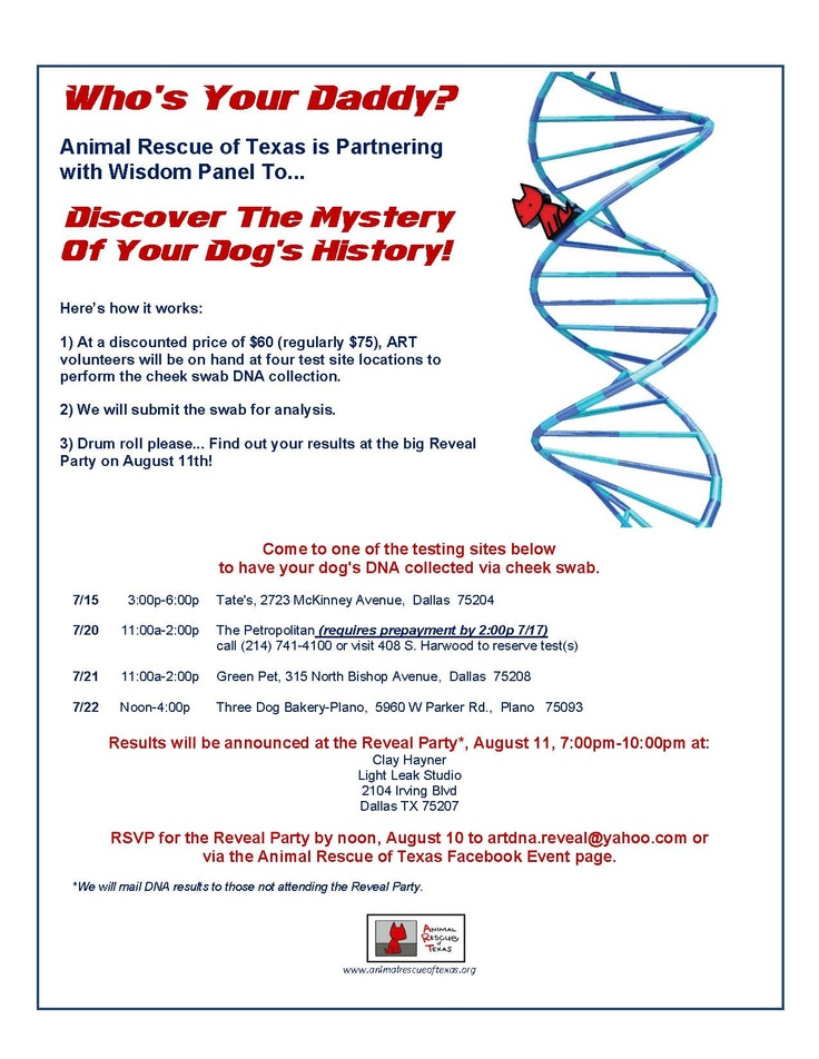 Analyze your dog's DNA and help homeless pets!