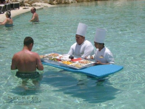 Chefs Serve Up A Special Lunch At Secrets Maroma Beach