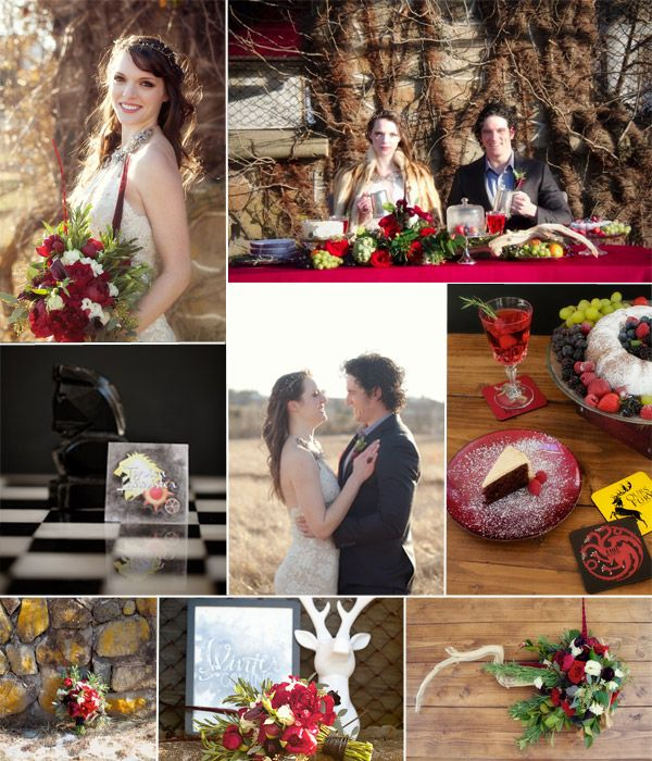 Fantasy Wedding Themes – Game of Thrones | http://www.tulleandchantilly.com/blog/fantasy-wedding-themes-game-of-thrones/