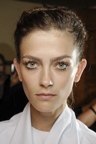 So spidery lashes are best avoided - unless you're making a furry lashed make-up statement.