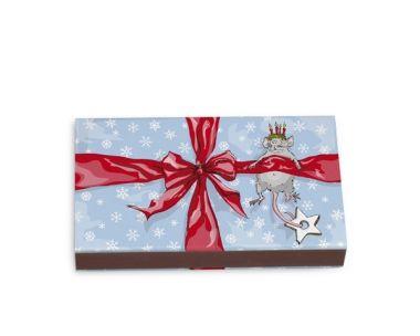 Krima & Isa - Weihnachtsmaus - Streichholzschachtel