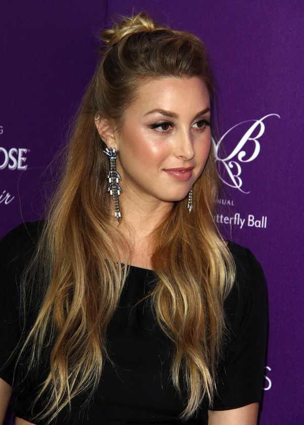 Whitney Port Chrysalis Butterfly Ball 2011