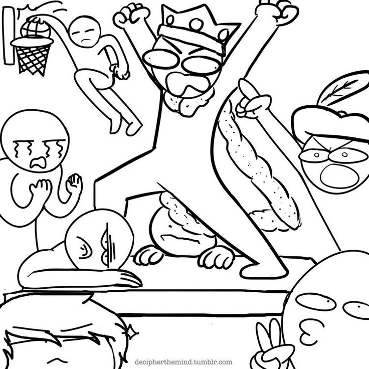 "Draw the squad. Lol Markiplier screaming ""I AM THE KING OF FIVE NIGHTS AT FREDDYS!!!"""